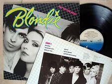Blondie Eat To The Beat + Inner A//2 B//3 UK LP Chrysalis CDL 1225 1979 EX/EX