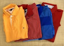 Lot 4 Tommy Hilfiger Mens Polo Shirts Large