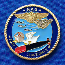 US Navy Historical Museum Naval Air Station Fort Lauderdale USN Challenge Coin