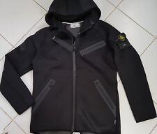 Stone Island Membrana TC Jacket Black Hooded Small logo On sleeve New SIZE M