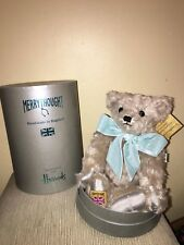 Harrods Christmas Bear Huge 2016 Merrythought Limited Edition Collectible