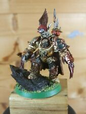 PLASTIC WARHAMMER CHAOS DEATHGUARD TERMINATOR LORD PAINTED (871)