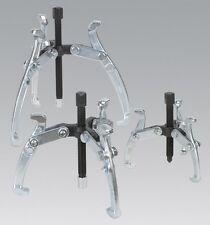 Sealey VS78 triple pierna Gear Extractor Set 3Pc herramienta de mano equipo de Garaje Taller