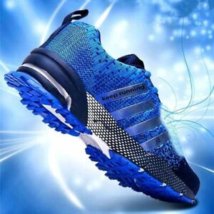 Fashion Men's Shoes Portable Breathable Running Shoes 46 Large Size Sneakers