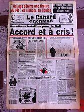 Le Canard Enchainé 8/12/1993; Coca Cola en france, bénéf record, impot zéro