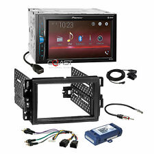 Pioneer Bluetooth Stereo Dash Kit Bose Harness for 06+ Buick Chevy GMC Pontiac