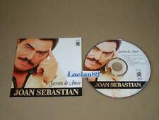 Joan Sebastian Secreto De Amor 2000 Musart Cd RARE Original Press Mexican