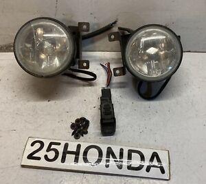 1998-2000 Honda Accord Coupe Raybrig Factory Fog Lights OEM JDM Ultra Rare CG1