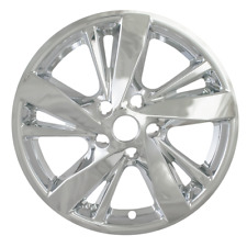 """Fits Nissan Altima 2013-2015 CCI CHROME 17"""" Wheel Skins Hubcaps Wheel Covers"""