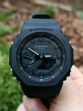 Casio G-SHOCK GA-2100-1A1ER - TRIPLE BLACK - ULTRA RARE - 2019 NEW RELEASE