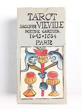 Jeu De Tarot Jacques Vieville Maitre Cartier 1643 1664 / Repro Héron Boechat