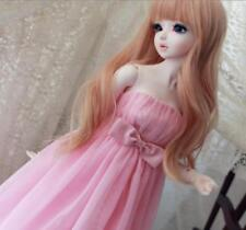New 1//3  Doll Clothes Lovely  Leisure  Pink Vest Bare Midriffs  BJD Clothes