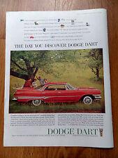 1960 Dodge Dart Sedan Ad Comfort is King