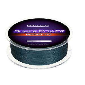 KastKing SuperPower Braided Fishing Line 500M / 40LB - Low-Vis Gray