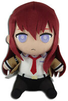 **Legit** Steins Gate 8'' Authentic Anime Genius Girl Plush Kurisu Makise #53566