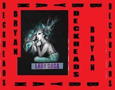 LADY GAGA  Born this Way Ball Concert tongue Black T-Shirt Tour Size Medium NEW