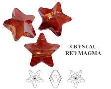 Genuine SWAROVSKI 5914 Star Crystal Beads Large Hole 14mm * Many Colors