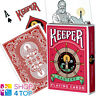ELLUSIONIST KEEPER MASTERS RED MARKED BICYCLE PLAYING CARDS DECK MAGIC TRICKS