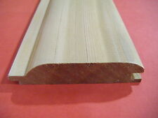Western Red Cedar No2 Clear and Better EX 25mm X 100mm T&g Log Lap