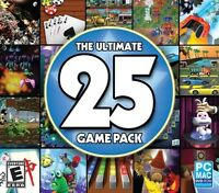 The Ultimate 25 Game Pack PC Games Windows 10 8 7 XP gin rummy spades hearts