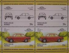 1975 BMW 2002 Tii Saloon Car 50-Stamp Sheet / Auto 100 Leaders of the World