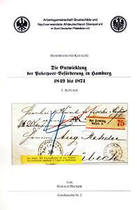 Harald Hacker, Paketpost Hamburg, Arge Brustschild, SRNr. 2, gebraucht, Karton w