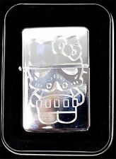Hello Kitty Storm Trooper Star Wars Engraved Chrome Cigarette Lighter LEN-0042