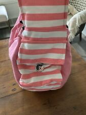 Dogo Soft Sling Pink Stripe Pet Carrier for Small Dogs & Cats
