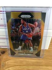 2017-18 PANINI PRIZM GOLD JAHLIL OKAFOR REFRACTOR PARALLEL 8/10 SIXERS JERSEY #