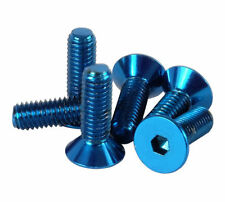 NRG Steering Wheel to Hub Adapter (or quick release) Screw Kit 6-Piece (BLUE)