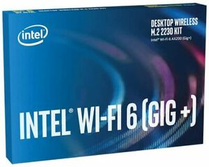 Intel WiFi 6 AX200 Wireless Network Card KIT 802.11ax MU-MIMO 160MHz Bluetooth