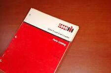 CASE IH 2255 Front End Loader Parts Manual Book catalog International Harvester