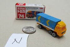 Tomica Capsule Pocket Cars #74 Mitsubishi Fuso Container Truck MIB US Seller
