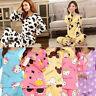 Women Ladies Long Sleeve Pyjama 2pc Set PJ Loungewear Nightwear pajamas Cute Fun