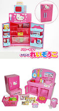 Hello Kitty Kitchen and Refrigerator Sets Sold Together – Cooking Play