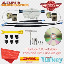 Window Regulator Repair Kit L Metal Bracket 1JM898461 VW Golf 4 Instld. + Tools