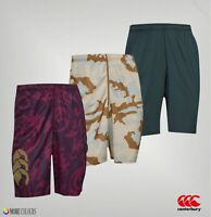 Mens Canterbury Printed Lightweight VapoDri Training Shorts Sizes from S to XL