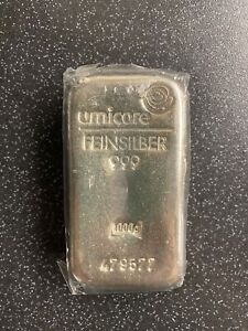 1 Kg Umicore Silver Bar