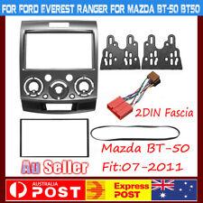 For Ford Ranger PJ PK Mazda BT-50 07-2011 Car Radio Double 2 DIN Facia Dash AU