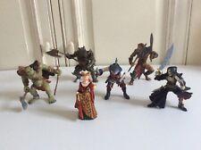 🦋 Lot 6 Figurines Mutant Papo Ork à la Hache, Requin, Rhinocéros, Homme Lion