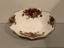 Royal Albert Old Country Roses Bone China Oval Dish for Candy or Trinkets RARE!