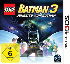 LEGO Batman 3 - Jenseits von Gotham 3DS (Nintendo 3DS) Versiegelt NEU OVP