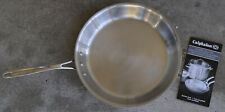 """Calphalon 12""""  Frying Pan Skillet ALL STAINLESS TRI-PLY Induction NICE"""
