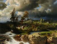 """high quality oil painting handpainted on canvas""""landscape"""""""