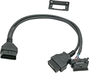 OBD2 Y Splitter Cable Universal Snap In Mounting OBDII