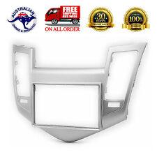 For Holden Cruze JG JH Silver radio Double 2 Din fascia dash panel facia kit AU