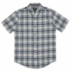 SALE! Grizzly Mountain Men's Woven Short Sleeve Button Up Shirt VARIETY! H31