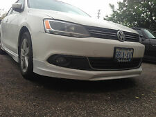 MK6 NEW 11 12 13 14 VOLKSWAGEN JETTA VOTEX STYLE FRONT LIP KIT SPOILER 2011+