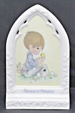 Precious Moments I Believe in Miracles Plaque #133469