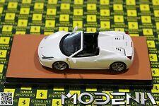Original Ferrari 458 Spider bianco fuji 22 Modellauto 1:43 MR Collection wie BBR